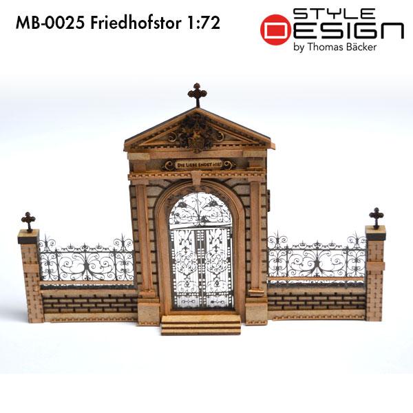 MB-0025 Friedhofstor 1:72