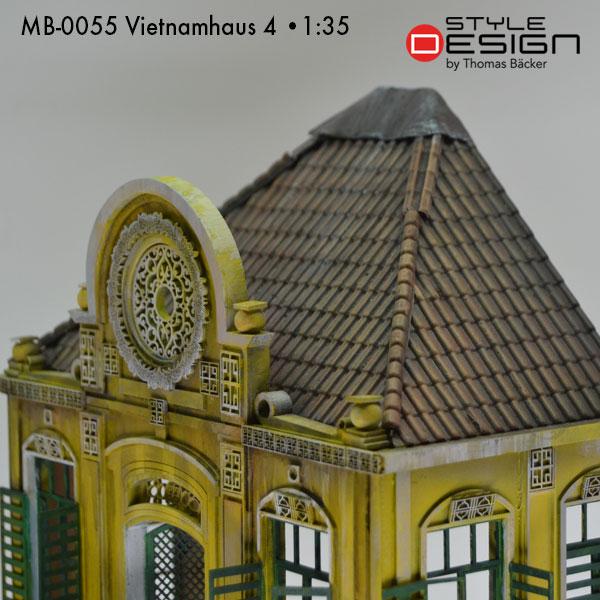 MB-0055-Vietnamhaus 4 Detailansicht Dach