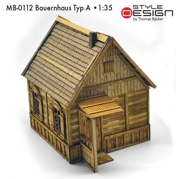 MB-0112-Bauernhaus-Typ-A Seitenansicht