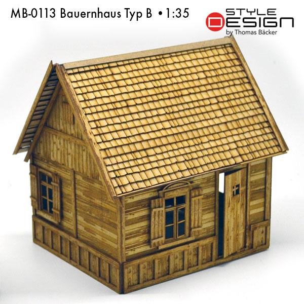 MB-0113-Bauernhaus-Typ-B Seitenansicht